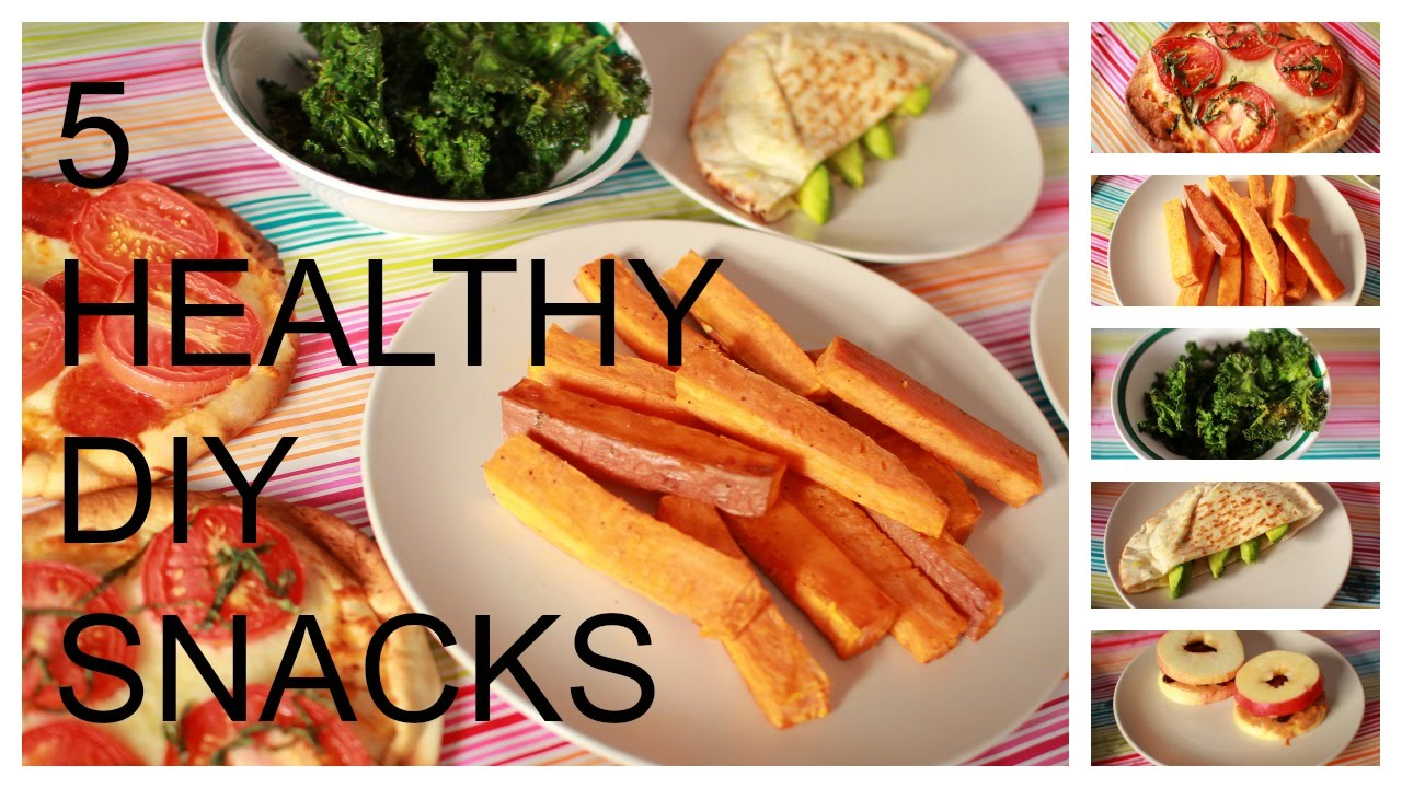 5 min healthy snacks to help you lose weight youtube