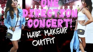 Get Ready With Me: One Direction Concert! #WWATOUR