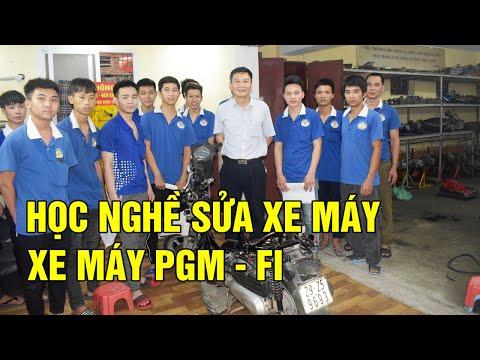 Học Nghề Sửa Chữa Xe Máy Tay Ga, Xe Phun Xăng điện Tử PGM-FI