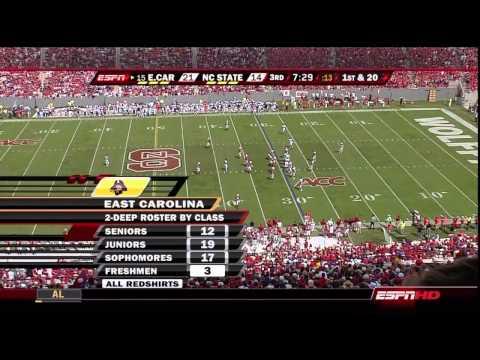 2008.09.20 #15 East Carolina Pirates at NC State Wolfpack Football