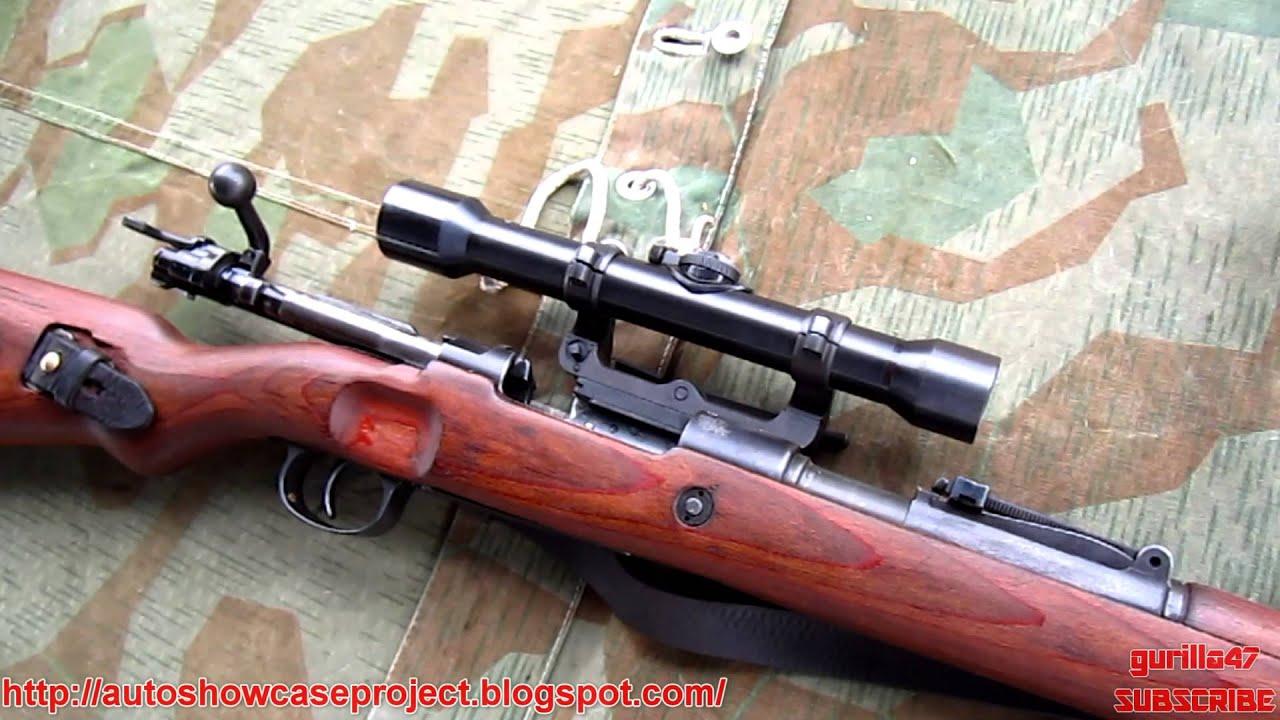 Sniper Rifle Wallpaper Hd Mauser Karabiner 98k Sniper Rifle Full Hd Youtube