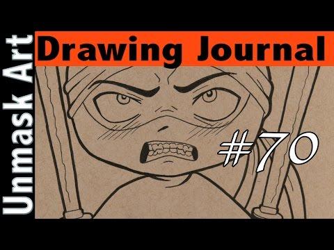 "Drawing Journal #70 ""My Weekend in London"""