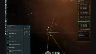 How to Gank a Hulk in eve online internet space ship game!!!!