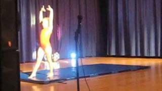 Olivia's School Talent Show-Gymnastics!