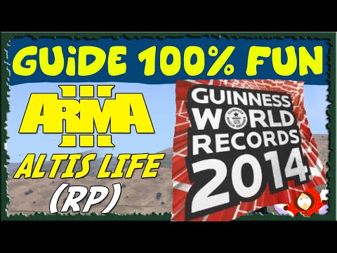 ALTIS LIFE | LA PLUS GROSSE MITE DU MONDE : World Records ! - ARMA 3