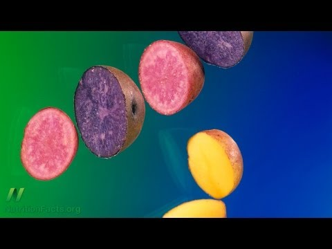 Anti-Inflammatory Effects of Purple Potatoes