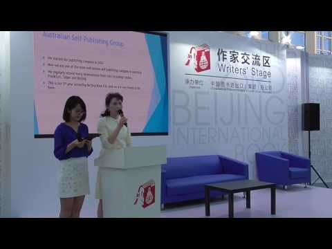 Beijing Book Fair presentation - Australian Self Publishing Group