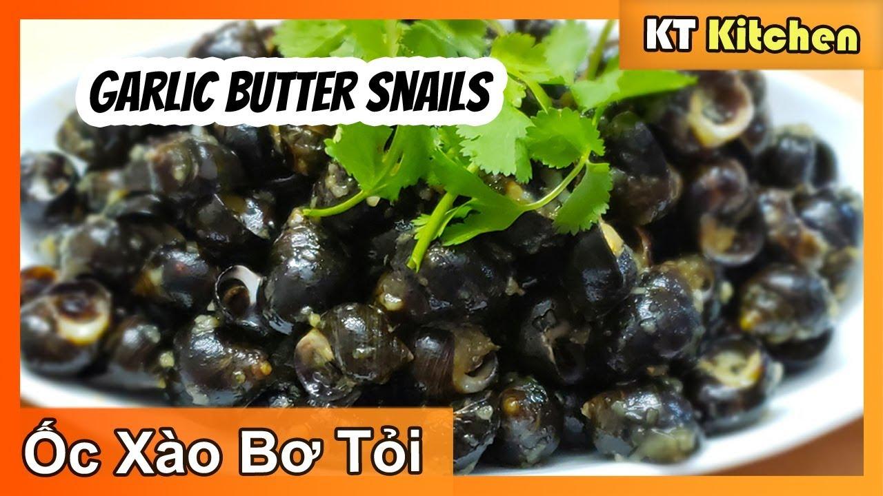 Ốc Xào Bơ Tỏi Thơm Ngon như Nhà Hàng [ ENGLISH CAPTION ] Snails Recipe with Garlic Butter