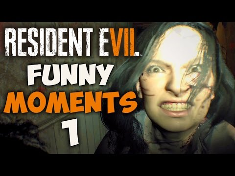 RESIDENT EVIL 7 FUNNY MOMENTS #1