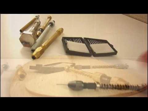 Trapanini manuali e gira punte per modellismo e lavori di precisione