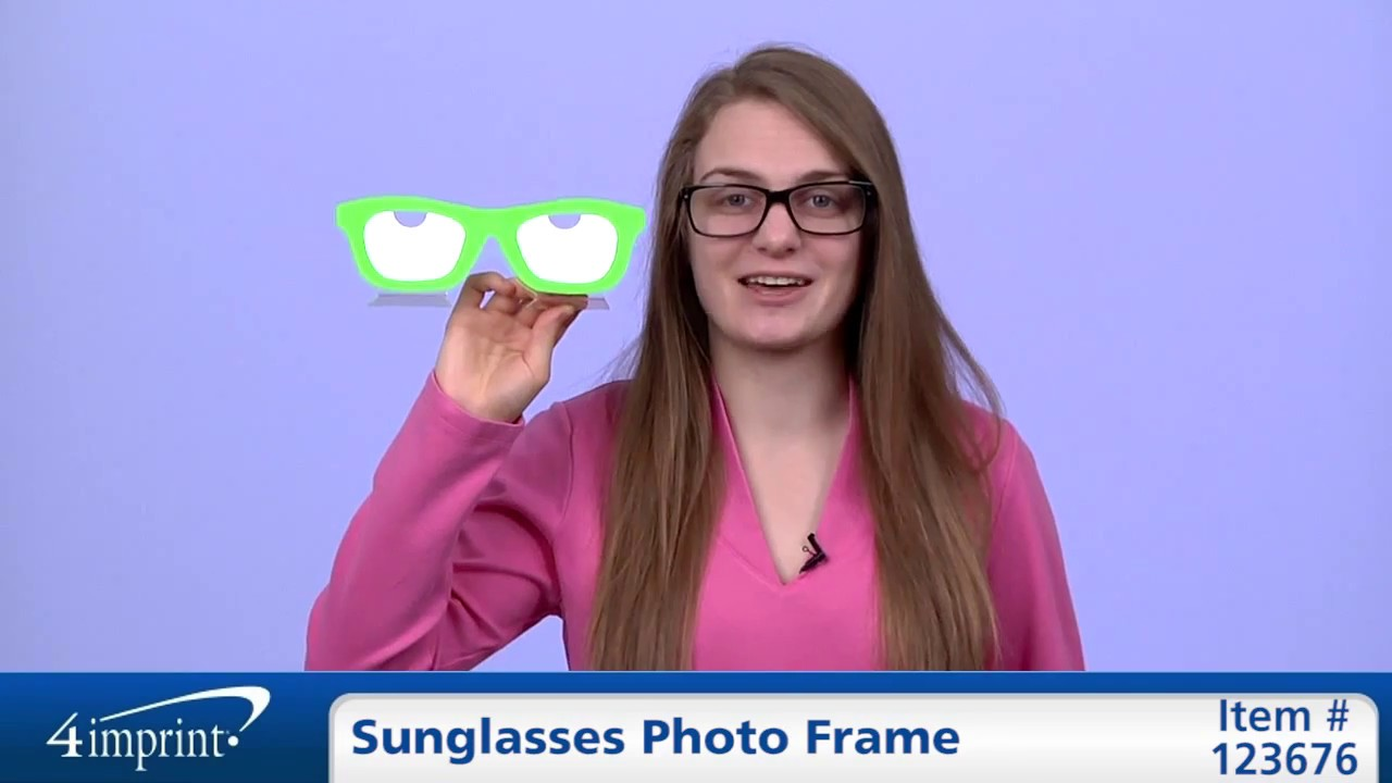 Personalized Sunglasses Photo Frame – Promotional Picture Frames by ...