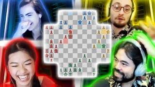 I'm Already Live! | 4 Player Chess with @BotezLive  @GothamChess and @Nemo Zhou