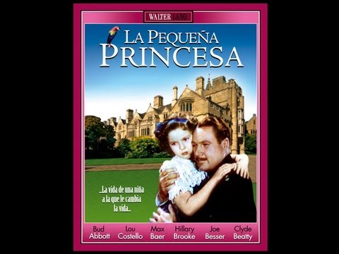 LA PEQUEÑA PRINCESA  (The Little Princess, 1939, Full Movie, Spanish, Cinetel)