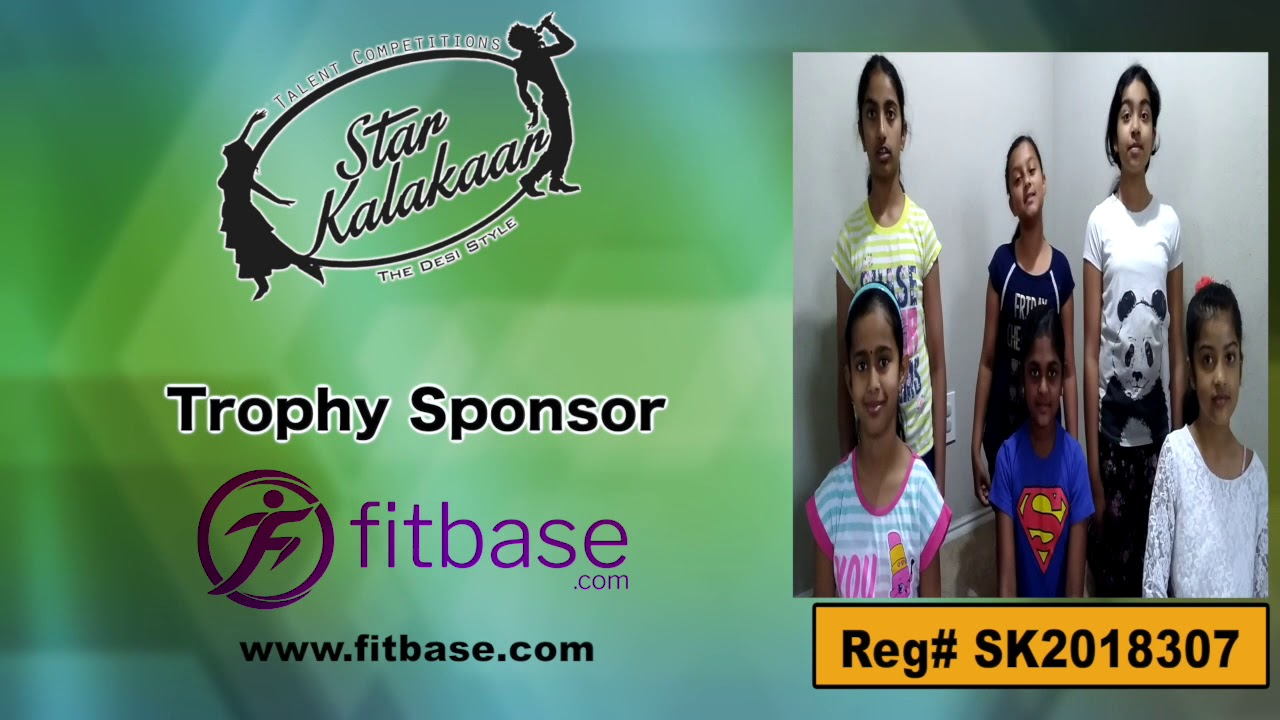 Participant Reg# SK2018-307 Introduction - US Star Kalakaar 2018 || DesiplazaTV
