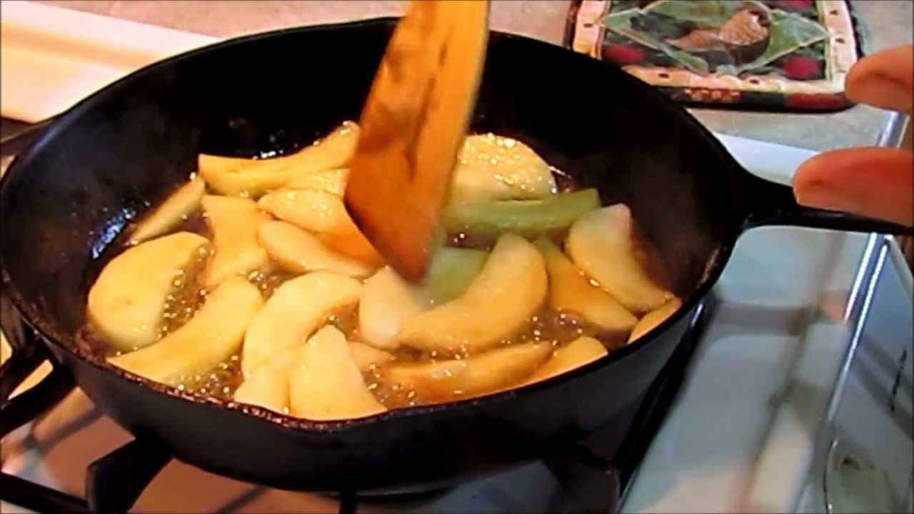 How to make a german apple pancake youtube how to make a german apple pancake ccuart Images