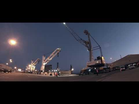 Liebherr - Mobile Harbour Cranes LHM RoRo-Shipment