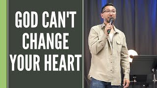 God Can't Change Your Heart  |  Tymme Reitz