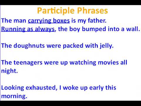 GERUND INFINITIVE PARTICIPLE DOWNLOAD