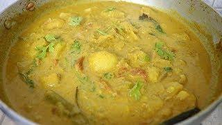 சுவையான குர்மா செய்வது எப்படி | Chapathi Kurma Recipe in Tamil | Side dish for chapathi rice