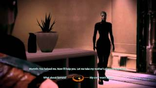Mass Effect 2: Morinth and Sex with Renegade Shepard (PC 720p)