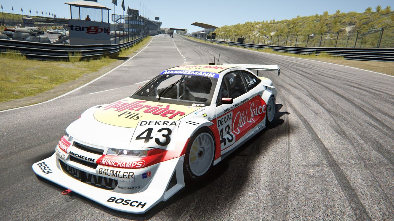 assetto corsa opel calibra dtm itc 1996 0 8 youtube. Black Bedroom Furniture Sets. Home Design Ideas