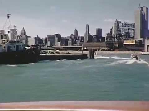 1956 Chicago River Boat Ride