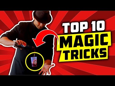 WOW! TOP 10 BEST Magic tricks that you can do