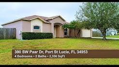 390 SW Paar Dr, Port St Lucie, FL 34953