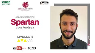 Spartan Training - Livello 3 - 1 (Live)