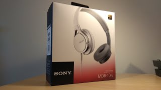 uNBOX  Review  Sony MDR-10RC