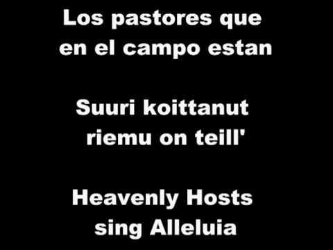 Noche de paz noche de amor silent night holy night mpg youtube