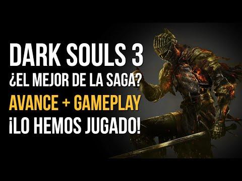 DARK SOULS 3: ¿EL MEJOR de la saga? - ¡Avance y gameplay! ¡Lo hemos jugado!