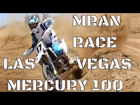 Dirt Biking Las Vegas MRAN Racing Mercury 100 2019