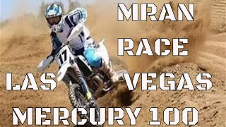 Dirt Biking Las Vegas MRAN Mercury Race Atomic 100 2019
