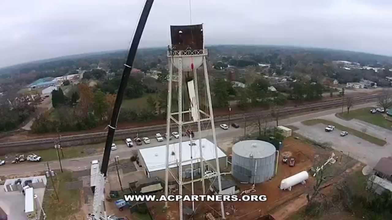 Storage Tank Demolition : Willis texas elevated water storage tank demolition