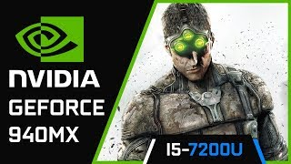 Splinter Cell: Blacklist | Nvidia Geforce 940MX | i5 7200U
