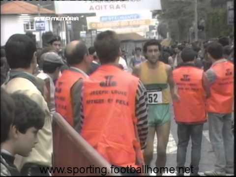 Atletismo :: Gémeos Castro vencem Grande Prémio de Pevidém em 1989 (29/11/1989)