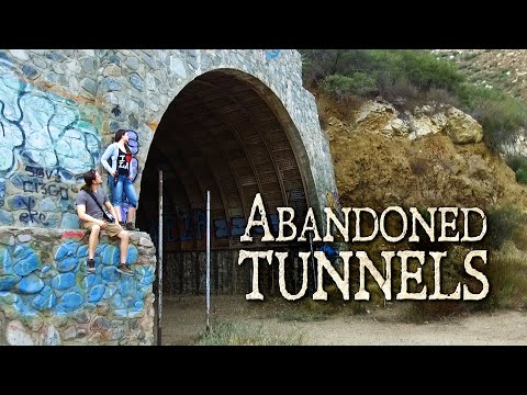 Exploring The Shoemaker Canyon Nuclear Escape Tunnels
