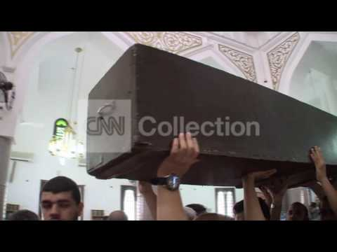 EGYPT CLASHES - BODIES IN CAIRO MOSQUE (GRAPHIC)