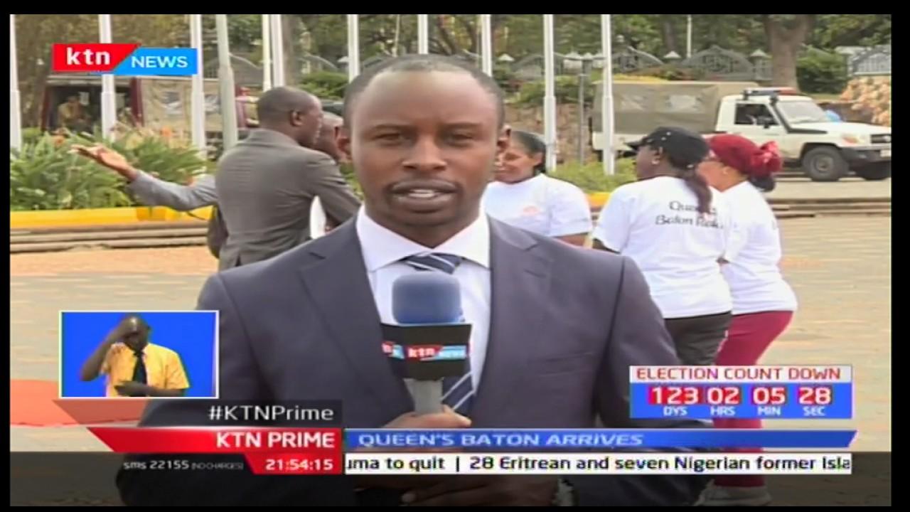 KTN Prime Sports: Queen's Baton In Kenya - 06/04/2017
