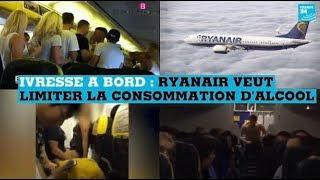 Ivresse à bord : Ryanair veut limiter la consommation d'alcool dans les aéroports britanniques