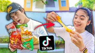 We TASTED Viral TikTok COOKING Life Hacks!! (Sarap!)  Ranz and Niana
