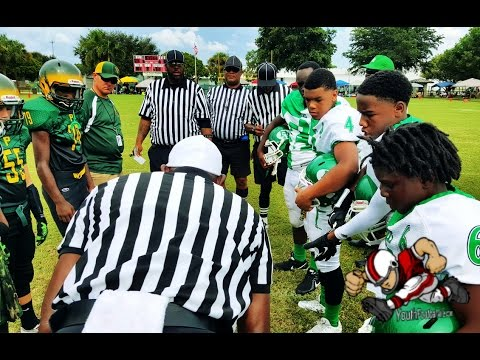 Youth Football-highlights- AYFL- 12u Plantation Wildcats vs Delray Rocks