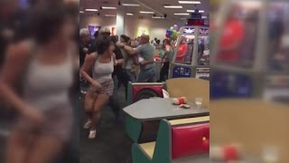 Violent Brawl Breaks Out Between Grown Ups at Chuck E. Cheese