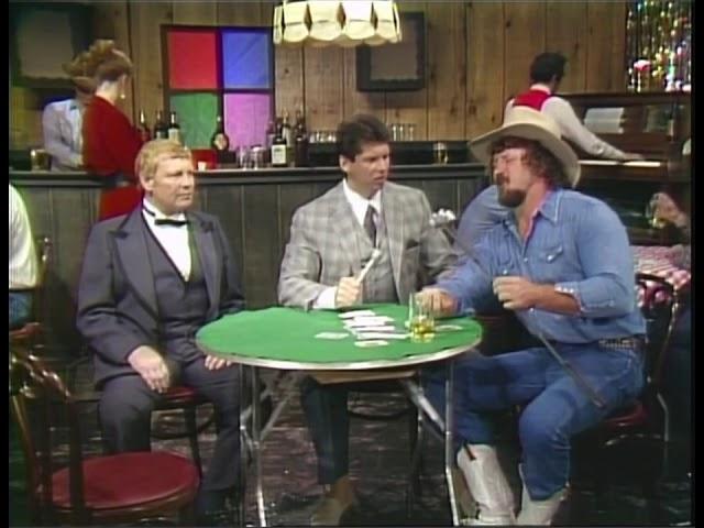 Terry Funk & Vince McMahon At A Bar