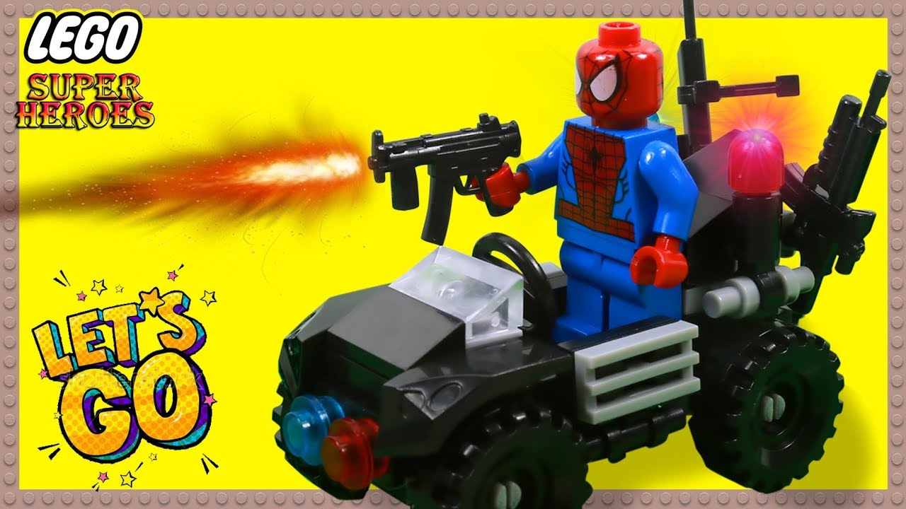 Lego SPIDERMAN Needle Fail Humorous Cease Movement (Superheroes in Actual Life)