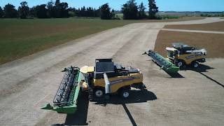 Harvest 2019, John Deere, Claas, Case, New holland, Big machines