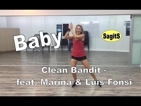Baby - Clean Bandit  Feat  Marina & Luis Fonsi | Zumba SagitS
