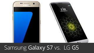 Samsung Galaxy S7 vs.  LG G5 (srovnání)