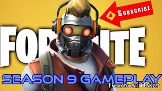 Fortnite Season 9 Gameplay